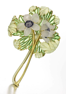 Lalique_bouquet brooch